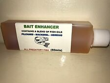 Bait Enhancer Fish Oil 50ml Bottle