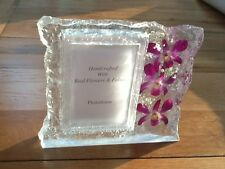 HAND MADE REAL ORCHIDS POHTO FRAMES