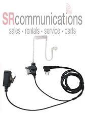 Surveillance Acoustic headset with PTT for Motorola CP200D CP200 PR400 CP200XLS