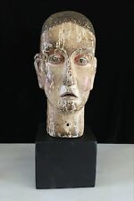 SANTOS HEAD 17TH-18TH CENTURY SAINT STEPHEN GOA PORTUGUESE INDIA LIFE SIZE