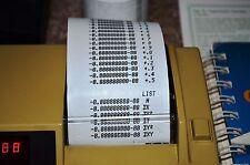 HP Calculator Printer Repair, Paper Advance 91 92 97 97S/82143A/82162A