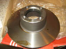 NEW FRONT BRAKE DISC - FITS: AUSTIN ROVER MINI & CLUBMAN & 1275GT (1974-ON)