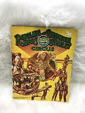 RINGLING BROTHERS BARNUM AND BAILEY 1980 VTG SOUVENIR BOOK
