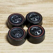 4x Original Hot Wheels Redline Medium Bearing  Wheels