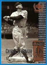 1999 Century Legends CHARLIE GEHRINGER  ex-mt  Detroit Tigers