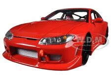 NISSAN S-15 RED RHD 1:24 DIECAST CAR MODEL BY WELLY 22485