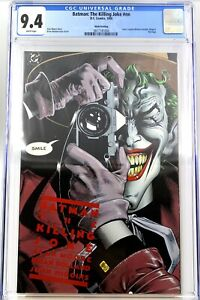Batman The Killing Joke CGC 9.4 NM Red Crimson Logo Rare 9th Print Hard To Find