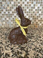 Chocolate Bunny Rabbit Hare Animal Easter Decor figure resin?