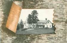 Postcard Belmont, New Hampshire, Highland House Early 1900s View