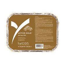 CERA calda Lycon attivo oro peso 1 KG.