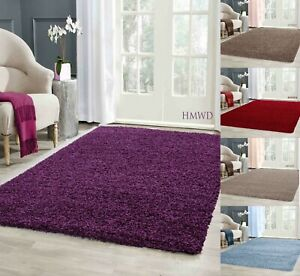 Modern Small X Large Soft Shaggy Non Slip Rug Bedroom Living Room Carpet Runner