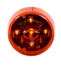 """Maxxima Amber M09250Y 2"""" Clearance Marker 5 LED Tow Truck marker Light."""