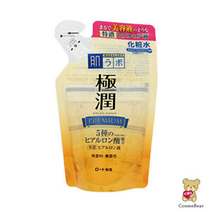 ☀Rohto Hadalabo Gokujyun premium hyaluronic acid lotion refill 170ml