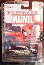 Maisto Marvel Die-cast Collection Spider-man Car Series 2 #27 Spm226 on Card