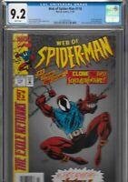 Web of Spiderman 118 CGC 9.2 NEWSSTAND VARIANT 1st Ben Reilly Scarlet Spider