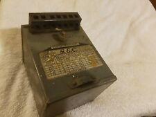Vintage GEC Mercury Vapour Ballast / Choke No. Z 1832 H or F 16803 H