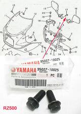Yamaha RZ500 Rear View Mirror Bolts NOS RZ500L RZV500R RZ500N       95027-10025