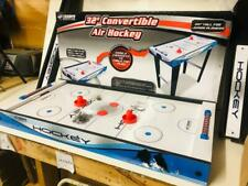 """Triumph Sports 32"""" Convertible Air Hockey Table with Legs"""