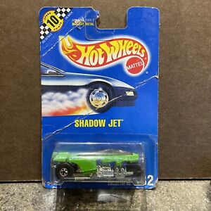 Hot Wheels Error Car Shadow Jet