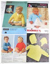 Bundle Vintage Baby Knitting Patterns & Booklets     UB1