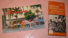 Vintage 1973 Schwin Bicycles Owner Manual & Catalogue Lightweight Bike Sting-Ray
