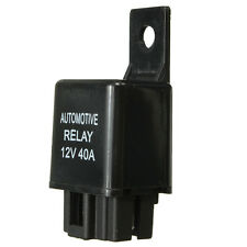 Black Plastic DC 12V 40A Car 4 Pin SPST Automotive Alarm Relay High Quality 1 70
