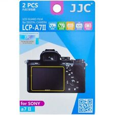 JJC 2PCS LCD Guard Screen Protector Film for Sony A9 A7 III M3 A7S II A7R III II