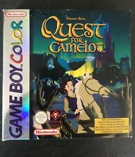 QUEST FOR CAMELOT- Vintage Game boy game - Boxed & complete Retro