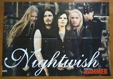 Nightwish - Down Metal Hammer Spanish Magazine Large Poster 82 x 58 cm