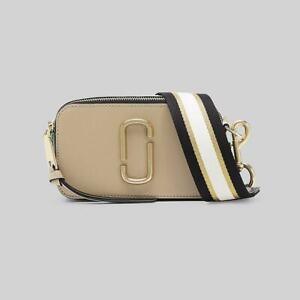 NWT Genuine Marc Jacobs Snapshot Small Camera Bag Crossbody SANDCASTLE MULTI