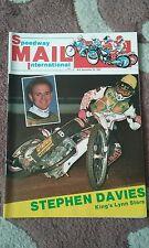 speedway mail international 30th september 1989