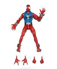 "US! Marvel Legends Infinite Series Scarlet Spiderman 6"" Sweater Action Figure"