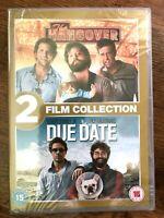 The Hangover + Due Date DVD Box Set Comedy Film Movie Double Bill BNIB