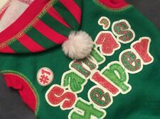 "New...Simply Dog ""Santa's Helper"" Hoodie (Size Small)"