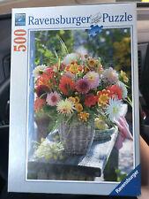 Ravensburger Beautiful Flowers Dalias 500 Piece Jigsaw Puzzle
