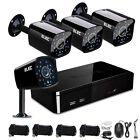 ELEC 960H 8CH HDMI DVR w/ 4 CCTV IR-cut Camera Home Security System Day/Night