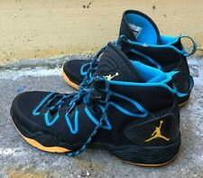 3fb67d418f9 NIKE AIR JORDAN XX8 SE MEN 13 616345-036 BLACK BLUE BASKETBALL JOCK SNEAKER  SHOE