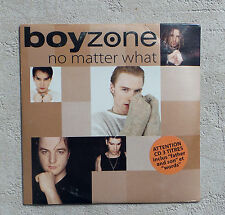 "CD AUDIO/ BOYZONE ""NO MATTER WHAT"" CD MAXI-SINGLE 3 TRACKS  NEUF SOUS BLISTER"