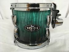"Pearl Vision VBA 8"" Mounted Tom/Emerald Fade Eucalyptus/#485/Brand New"