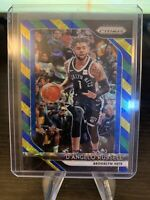 D'Angelo Russell 2018-19 Panini Prizm Choice Blue Yellow and Green #248