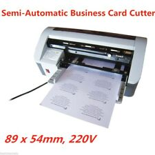 Business card cutter for sale ebay 220v desktop semi automatic business name id card cutter cutting machine colourmoves
