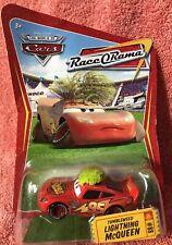 Disney Pixar Cars ~TUMBLEWEED MCQUEEN ~ RaceORama Series #88 1:55 Diecast Mattel