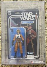 Star Wars Black Series Luke Skywalker X-Wing Pilot 40th Anniversary AFA ARCHIVAL