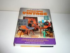 CARTERS EVERYTHING VINTAGE THE POST 1950s PRICE GUIDE 2007