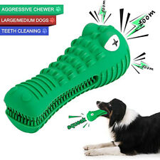 Dog Toothbrush SqueakChew Toys for Aggressive Chewer Teeth Toys Brushing SticH4
