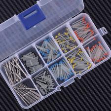160 Dental Glass Fiber Post Straight Pile 1.2-1.8mm & 32 Drill Dental Thread Set
