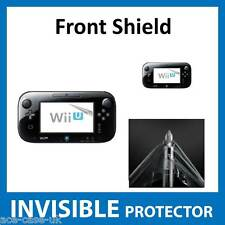 Nintendo Wii U Controller INVISIBLE FRONT Screen Protector Shield Military Grade