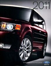 2011 FORD FLEX NEW BROCHURE SE SEL LIMITED TITANIUM -  32 pages of pics, specs