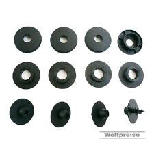 Vw sharan 4 x paillassons caoutchouc tapis attaches clips support set environ