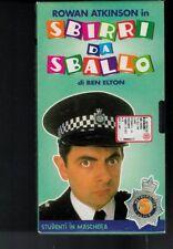 VHS=ROWAN ATKINSON in SBIRRI DA SBALLO=DI BEN ELTON=STUDENTI IN MASCHERA=N°5